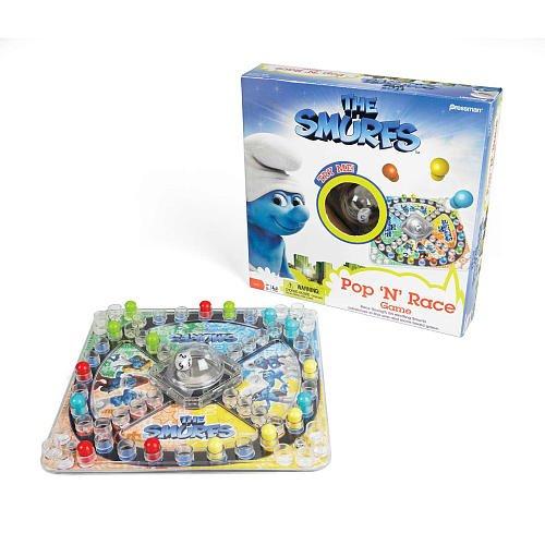 Smurfs Pop N Race Game