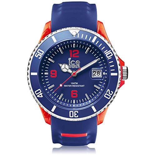 Ice-Watch Ice Sporty SR.3H.BRD.BB.S.15 - Orologio da polso da uomo, cinturino in silicone colore blu