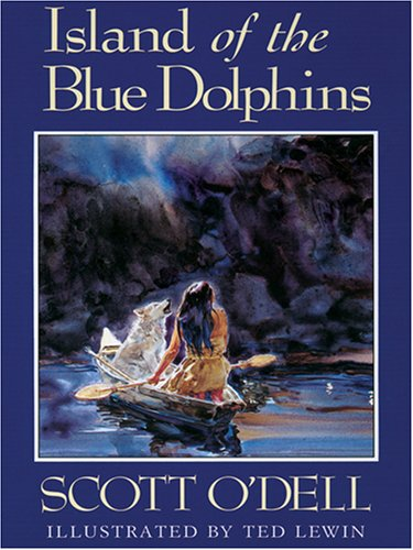 The Island of the Blue Dolphins by Scott O&#39Dell