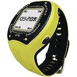 Posma W3 GPS Running Cycling Hiking Multisport Watch Navigation ANT+ Strava MapMyRide/MapMyRun (BHR20 Heart Rate Monitor and BCB20 Speed/Cadence Sensor Bundle Option Available) Yellow (Color: Posma Yellow Base Model, Tamaño: Display size 22*22mm)