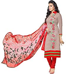pakiza design new arrival beige chanderi cotton festival party wear salwar suit dress material