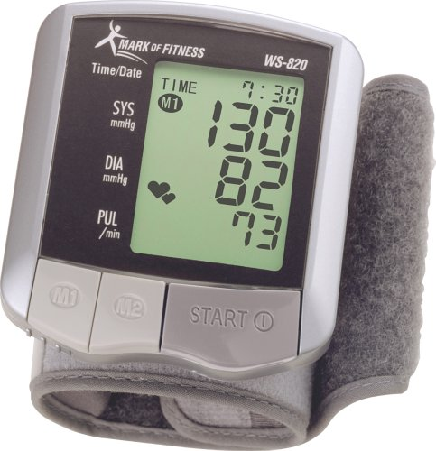 Cheap Mark of Fitness WS-820 Automatic Wrist Blood Pressure Monitor (WS-820)