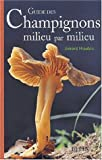 Guide des champignons milieu par milieu