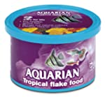 Aquarian Tropical Flake Fish Food 13 g