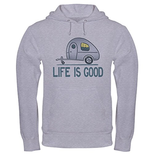 CafePress - Life Is Good Camper - Pullover Hoodie, Classic & Comfortable Hooded Sweatshirt (Men Camper Life Is Good compare prices)