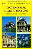 echange, troc Lavenu, Mataouch - Dictionnaire d'architecture