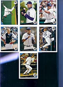 2009 Topps Detroit Tigers Complete Team Set (22 Cards) by Topps