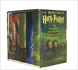 Harry Potter Hardcover Box Set Books 1 6 J K Rowling