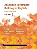 img - for Academic Vocabulary Building in English, Intermediate: Volume 2 (Pitt Series in English as a Second Language) book / textbook / text book