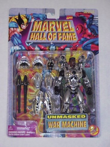 Marvel Hall of Fame - Unmasked War Machine Action Figure (Iron Man Action Figure )