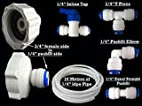 Fridge Filter Plumbing Kit / Hose Connection Kit for American Style Fridge Freezers , fits LG , Samsung , Bosch , Daewoo , GE + all with 1/4