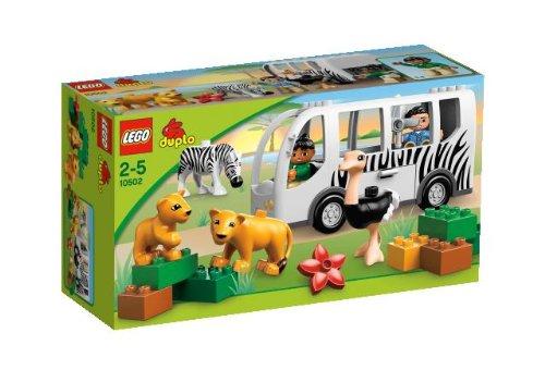 Lego Duplo Legoville - 10502 - Jeu de Construction - Le Bus du Zoo