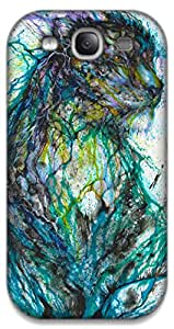 The Racoon Grip multicolor leapord hard plastic printed back case / cover for Samsung Galaxy S3