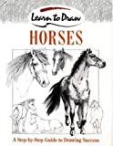Horses (Learn to Draw) (0004133609) by Brown, David