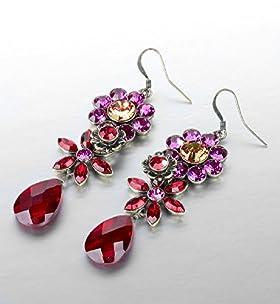 125 Years Sparkle Garden Drop Earrings