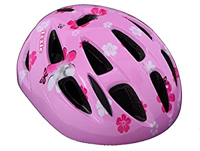 "Professional Izzie Girls 18"" Wheel Kids Bike Pretty Pink Dolly Seat, Streamers & Izzie Helmet 55-59cm Pink Age 6+ from Professional"