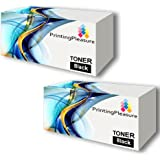 TWO HP P1102 High Quality Remanufactured toner cartridge CE285A replacement for HP printers M1132MFP, M1212NF, P1100, P1102, P1102w by Printing Pleasure PREMIUM PRODUCTS