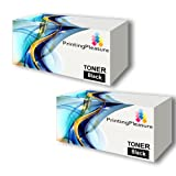 HP CE310A / 126A High capacity TWO Black Remanufactured toner cartridge for Colour LaserJet CP1025, CP1025nw, M175a, M175nw, LaserJet Pro 100, TopShot Laserjet Pro M275 by Printing Pleasure PREMIUM PRODUCTS