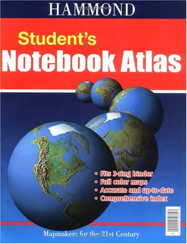 Hammond Student's Notebook Atlas