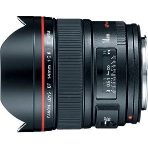 Canon EF 14mm f/2.8L II USM Ultra-Wide Angle Lens for Canon Digital SLR Cameras
