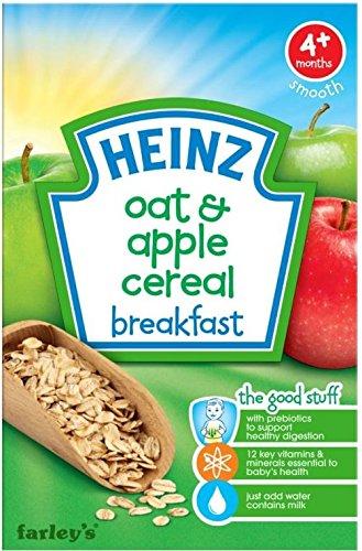 Heinz Breakfast Oat & Apple Cereal For Babies 4Mth+ (125G) front-880196