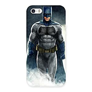 Impressive Blue Knight Walk Back Case Cover for iPhone 5 5S