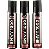 Envy 1000 Magnetic Perfume Body Spray Set For Men, 120 Ml (Pack Of 3)