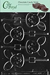 Cybrtrayd E078 Baby Bunny Pop Chocolate/Candy Mold with Exclusive Cybrtrayd Copyrighted Chocolate Molding Instructions
