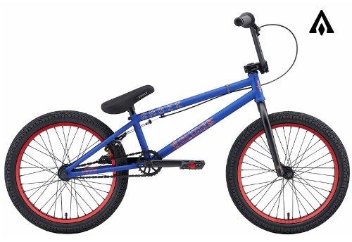 Amber Altar Matte Blue BMX Bike