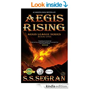 AEGIS RISING (Action-Adventure, Sci-Fi Mystery) (The Aegis League Series Book 1)