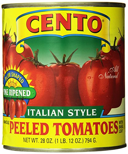 Cento Plum Tomatoes, 28-Ounce Cans (Pack of 12) (Canned Plum Tomatoes compare prices)