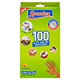 Spontex Multi-Purpose Disposable Gloves Latex & Powder Free 100 per pack