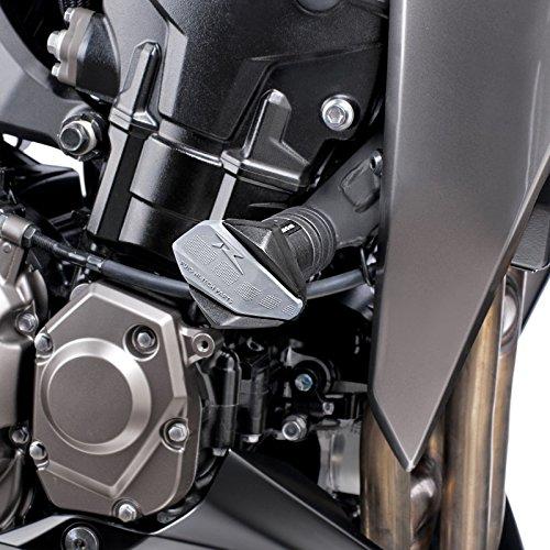 Roulettes de protection Puig R12 Kawasaki Z 1000 14-16 noir