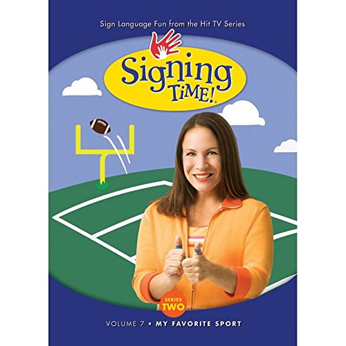 Signing Time Series 2 Vol. 7 - My Favorite Sport