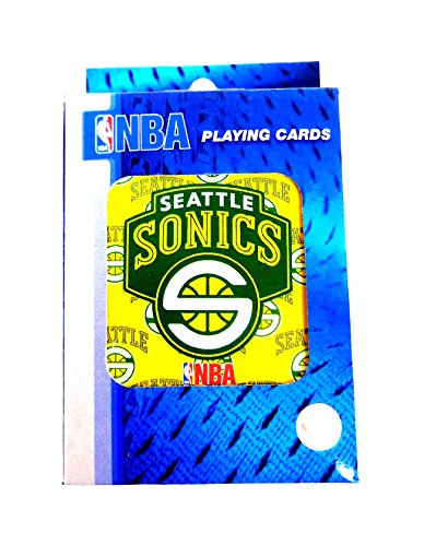 NBA Basketball Seattle Super Sonics Playing Cards