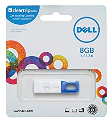 Dell FD 8GB Pen Drive (Blue)