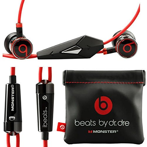 Monster Beats by Dr Dre iBeats Headphones with ControlTalk (iBeats Black) (Dr Dre Beats Headphones Cord compare prices)