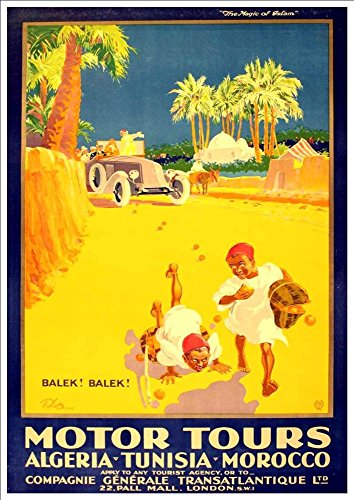 motor-tours-in-algeria-tunisia-morocco-wonderful-a4-glossy-art-print-taken-from-a-rare-vintage-trave