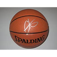 Carmelo Anthony New York Knicks Spalding Signed Autographed Basketball Authentic Certified Coa