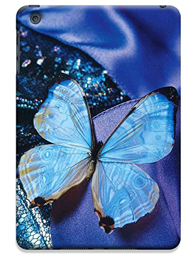 Fantastic Faye Cell Phone Cases For Ipad Mini No.4 The Beautiful Design With Colorful Butterfly Fly On The Leaves Or Flowers