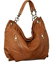 Brown Extra-Large 'Georgina' Hobo