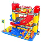 Junior Toy Garage, Three Levels with...