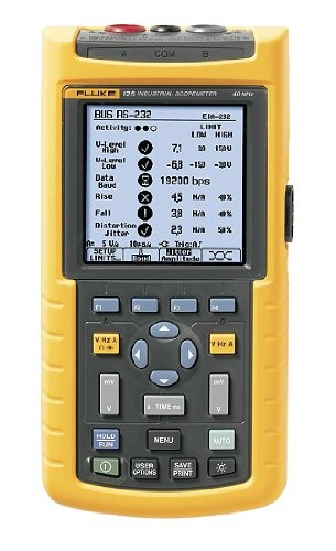 Fluke 125 Scopemeter, 40 MHz, Industrial, Probe Included - Fluke - FL-125-003 - ISBN: B001BY484I - ISBN-13: 0095969400893