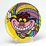 Disney by International Artist Romero Britto for Enesco Cheshire Cat Plate 8 IN