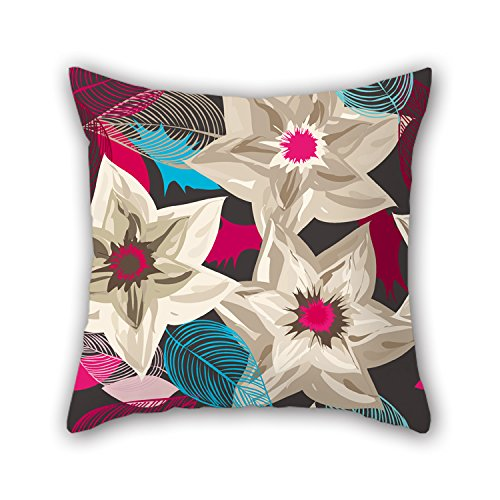 niceplw-20-x-20-inches-50-by-50-cm-flower-pillowcasetwice-sides-is-fit-for-pubkitchenbenchcouplespla