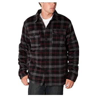 O'Neill Dakota Full Button Coat - Gray Plaid (Medium)