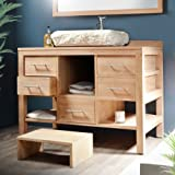 waschbeckenschrank waschtisch waschbecken unterschrank. Black Bedroom Furniture Sets. Home Design Ideas