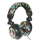 iHip Free Love DJ Headphones IP-DJPEACE
