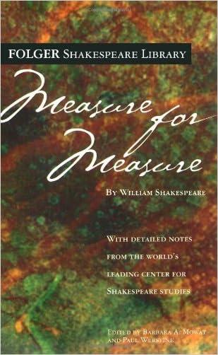 Measure for Measure (Folger Shakespeare Library)