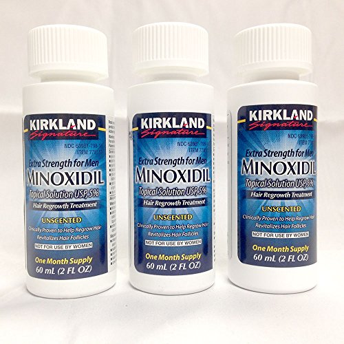 Kirkland 5% Minoxidil Hair Regrowth for Men - 3 Month Supply